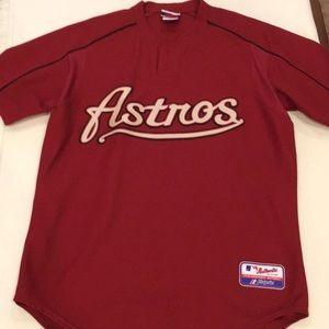 Vintage throwback Astros Jersey